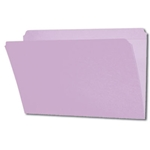 Smead 17410 Lavender File Folder, Reinforced Straight-Cut Tab, Legal