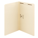 Smead 19510 Manila Fastener File Folder, 1 Fastener, Reinforced Straight-Cut Tab, Legal