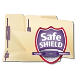 Smead 19555 Manila Fastener File Folder with SafeSHIELD Fasteners, 2 Fasteners, Reinforced 1/3-Cut Tab, Legal