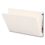 Smead 24556 Ivory End Tab File Folder, Straight-Cut Tab, Legal