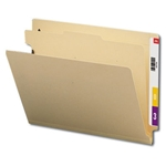 Smead 26825 Manila End Tab Classification File Folder, 1 Divider, 2