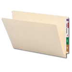 Smead 27100 Manila End Tab File Folder, Straight-Cut Tab, Legal