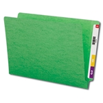 Smead 28110 Green End Tab File Folder, Shelf-Master Reinforced Straight-Cut Tab, Legal
