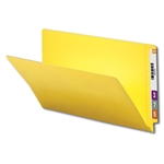 Smead 28910 Yellow End Tab File Folder, Shelf-Master Reinforced Straight-Cut Tab, Legal