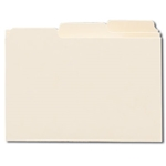 Smead 56030 Card Guide, Plain 1/3-Cut Tab (Blank), 6