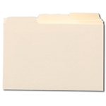 Smead 57030 Card Guide, Plain 1/3-Cut Tab (Blank), 8