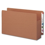 Smead 74780 Redrope End Tab TUFF File Pocket, Reinforced Straight-Cut Tab, 3-1/2