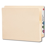 Smead 75114 Manila End Tab File Pocket, Reinforced Straight-Cut Tab, 1-3/4