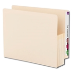 Smead 75124 Manila End Tab File Pocket, Reinforced Straight-Cut Tab, 3-1/2