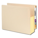 Smead 75174 Manila End Tab File Pocket, Reinforced Straight-Cut Tab, 5-1/4