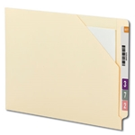 Smead 75700 Manila End Tab File Jacket, Shelf-Master Reinforced Straight-Cut Tab, Letter