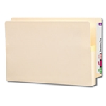 Smead 76114 Manila End Tab File Pocket, Reinforced Straight-Cut Tab, 1-3/4