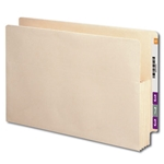 Smead 76164 Manila End Tab File Pocket, Reinforced Straight-Cut Tab, 3-1/2
