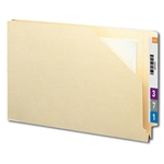 Smead 76740 Manila End Tab File Jacket, Shelf-Master Reinforced Straight-Cut Tab, 1-1/2