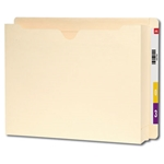 Smead 76910 Manila End Tab Expanding File Jacket, Reinforced Straight-Cut Tab, 2