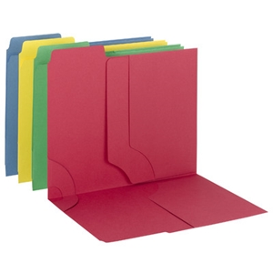 Smead 11905 Assorted 3-in-1 SuperTab Section Folder, 1/3-Cut Oversized Tab, Letter