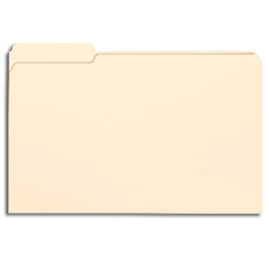 Smead 15331 Manila File Folder, 1/3-Cut Tab Left Position, Legal
