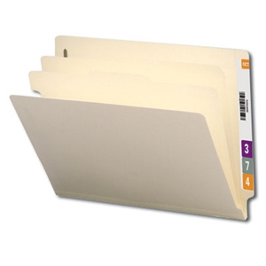 Smead 26835 ETC300L-2D Manila End Tab Classification File Folder, SMD26835