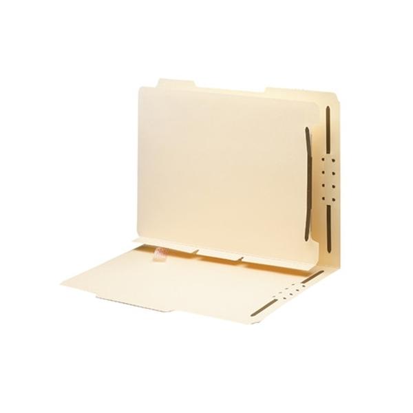 "Smead 68025 Manila Self-Adhesive Folder Dividers, 1"" Twin"